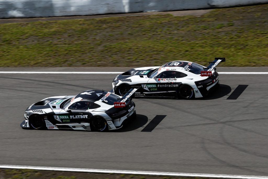 #6 Hubert Haupt (GER), MERCEDES-AMG TEAM HRT, Mercedes-AMG #22 Lucas Auer (AUT), Mercedes AMG GT3, Mercedes AMG Team Winward-DTM Nuerburgring